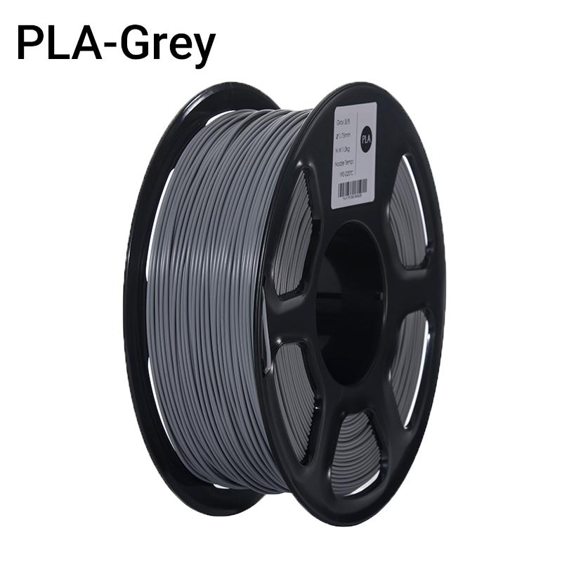 Filament PLA Gris (FILA+) 1Kg