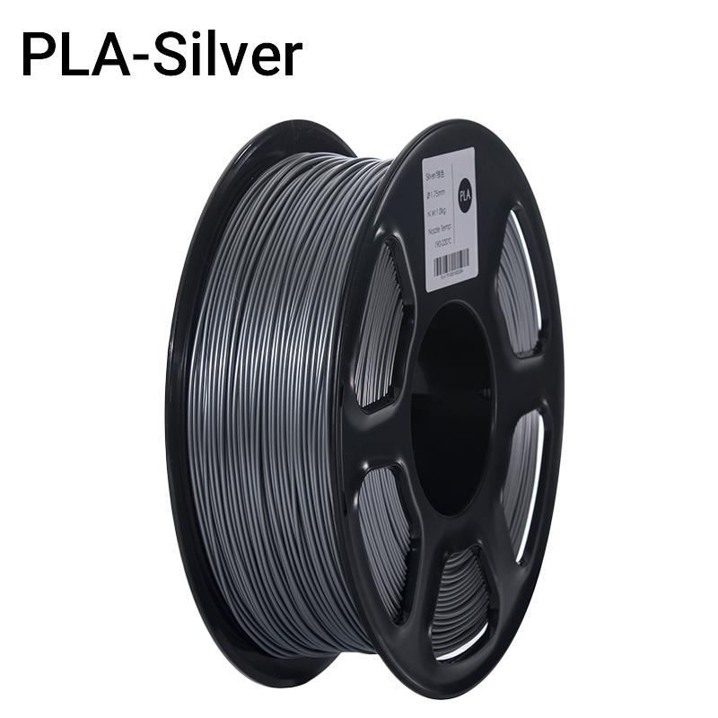 Filament PLA Argent (FILA+) 1Kg