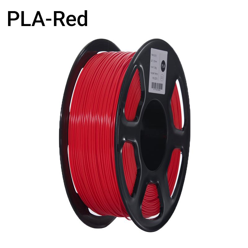 Filament PLA Rouge (FILA+) 1Kg