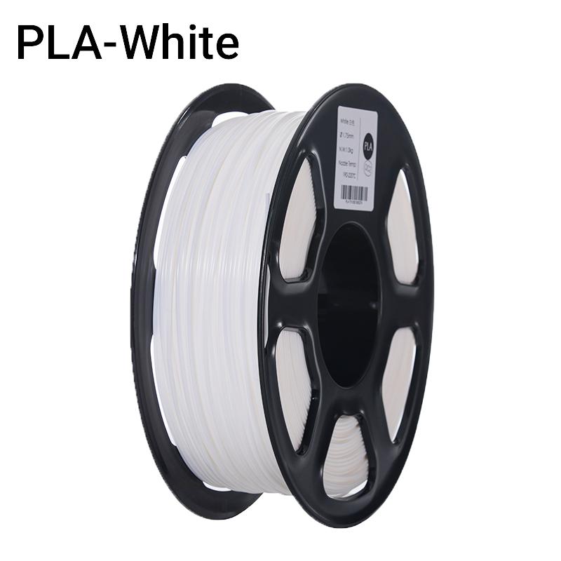 Filament 3D PLA Premium Blanc 1.75mm 1kg