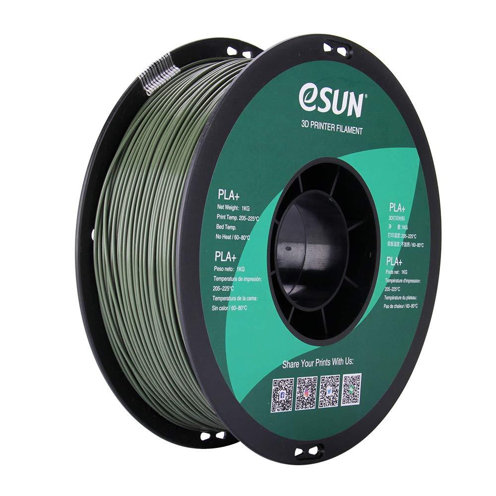 Filament 3D PLA Esun Olive Green 1.75mm 1kg