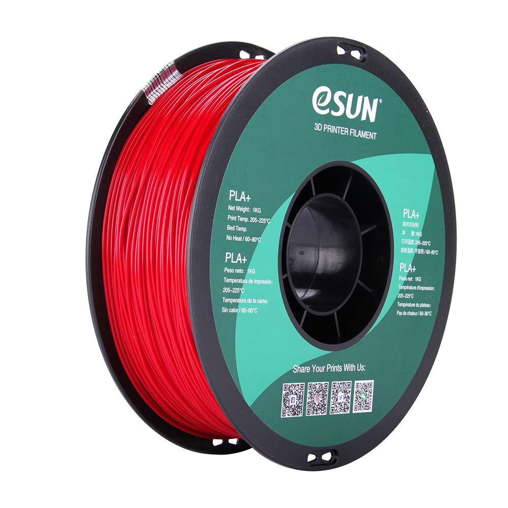Filament 3D PLA Esun Red 1.75mm 1kg