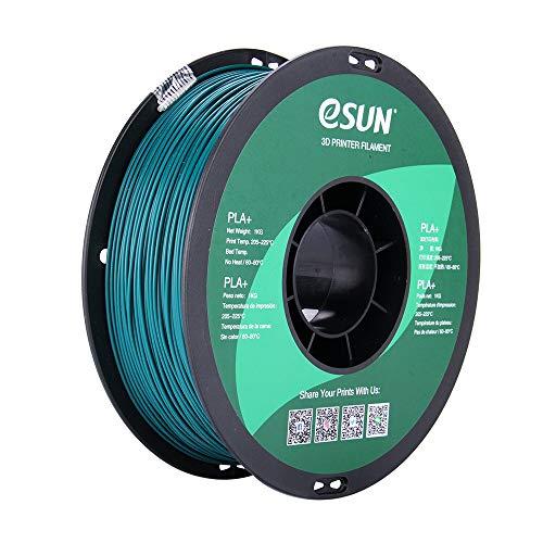 Filament 3D PLA Esun Green 1.75mm 1kg