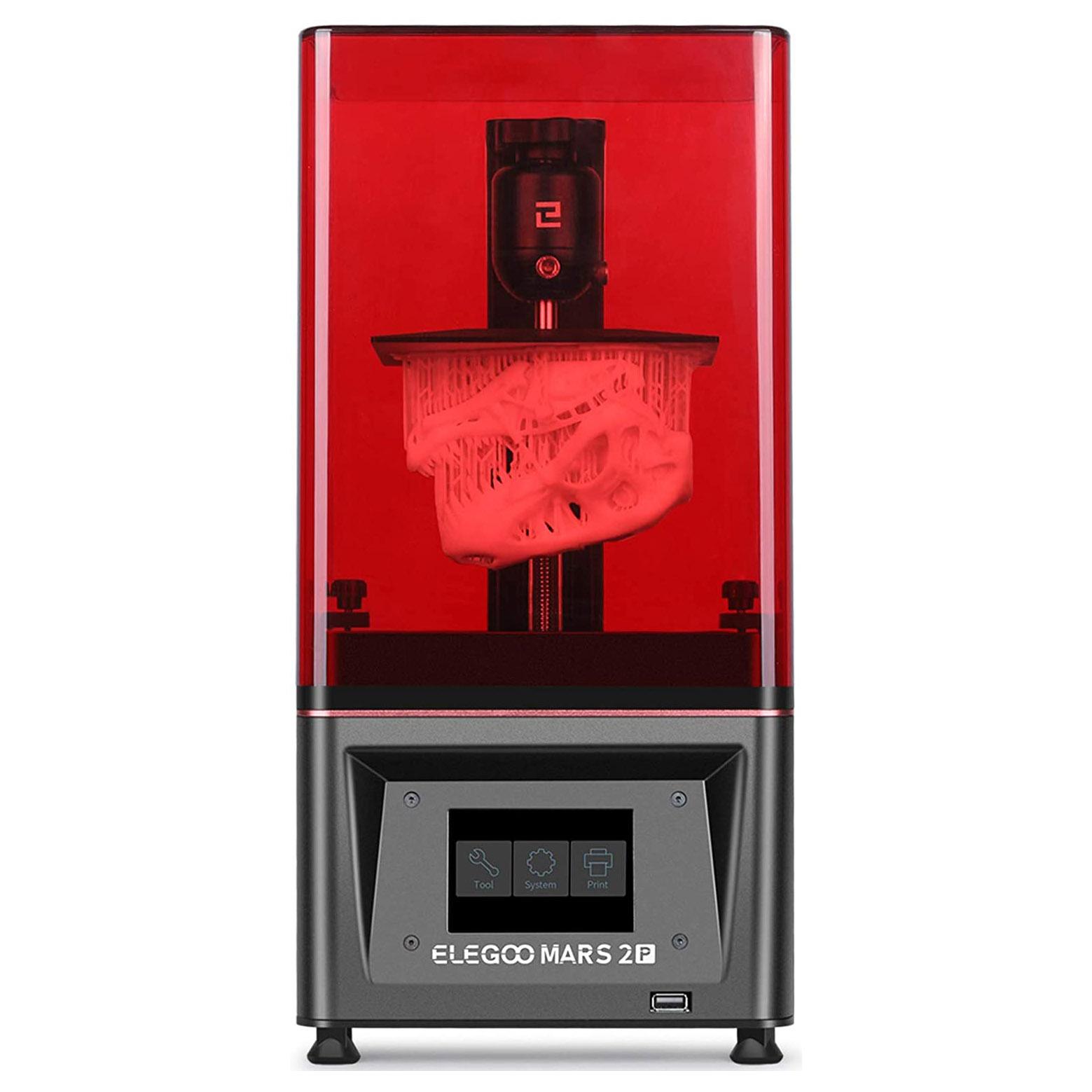 ELEGOO Mars 2 Pro Imprimante 3D à résine LCD Monochrome 2K