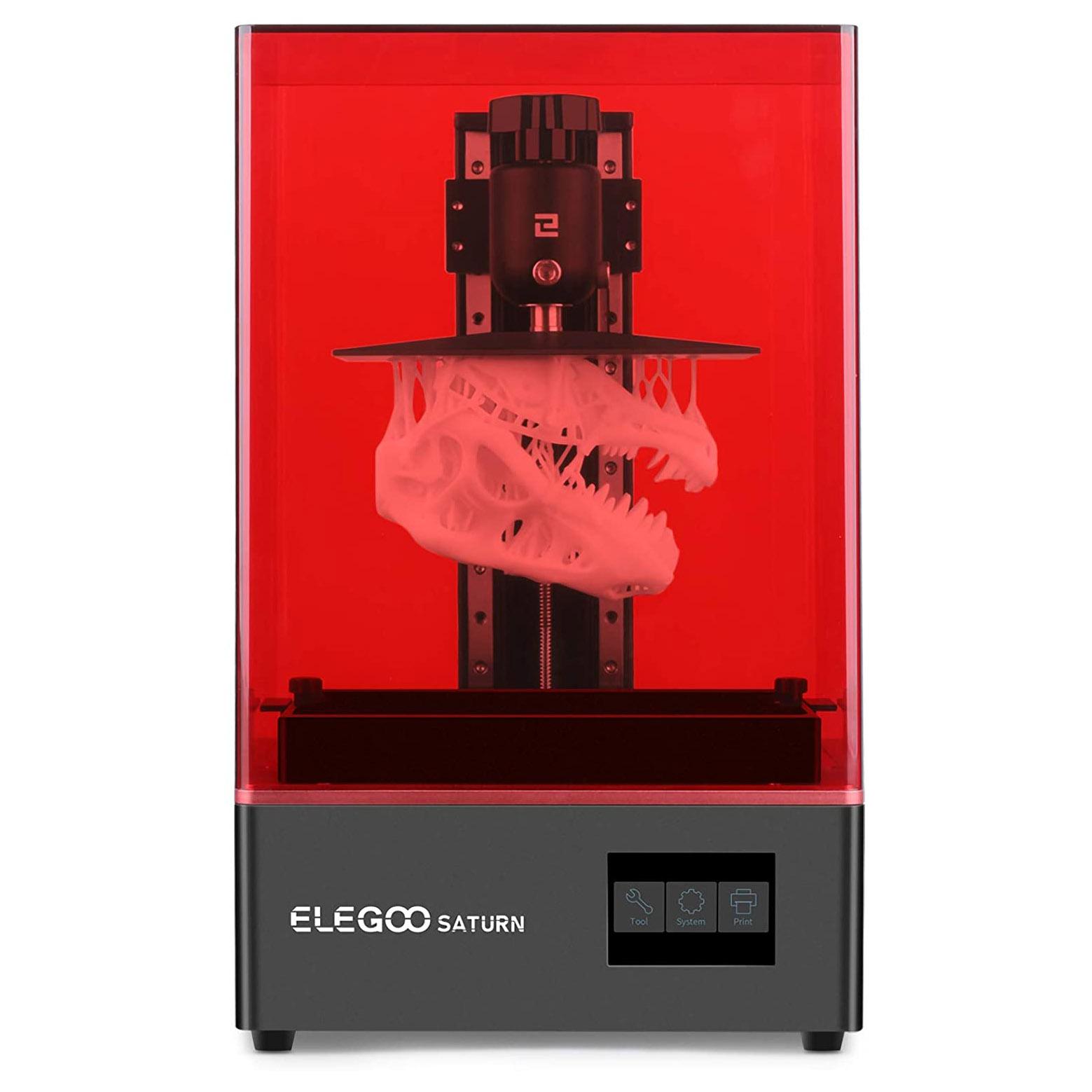ELEGOO Saturn 4K Monochrome LCD 3D Printer 8.9″