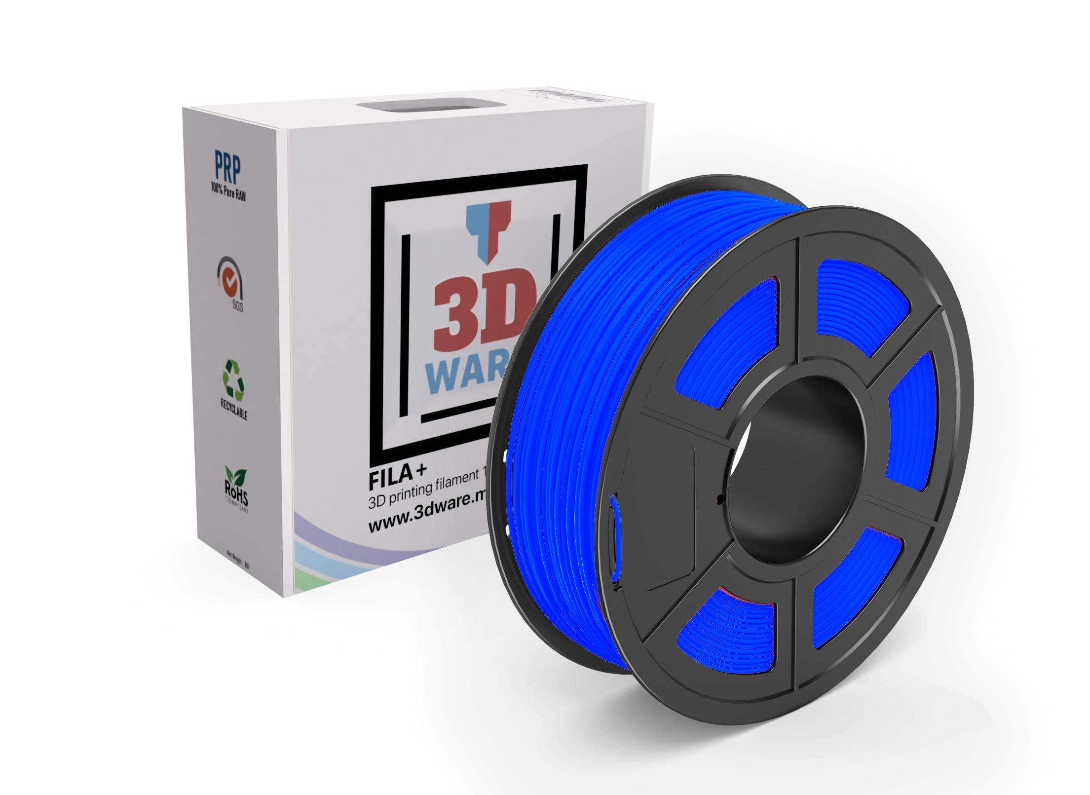 Filament 3D FILA+ ABS Bleu 1.75mm 1kg