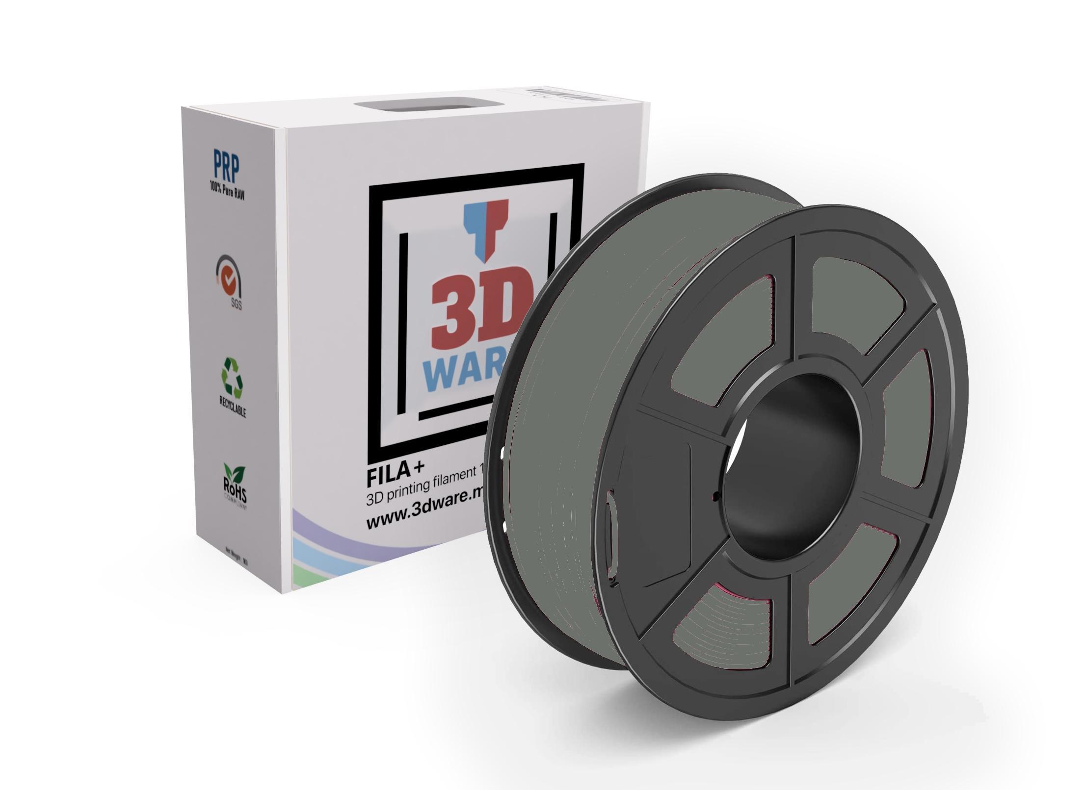 Filament 3D FILA+ ABS Gris 1.75mm 1kg