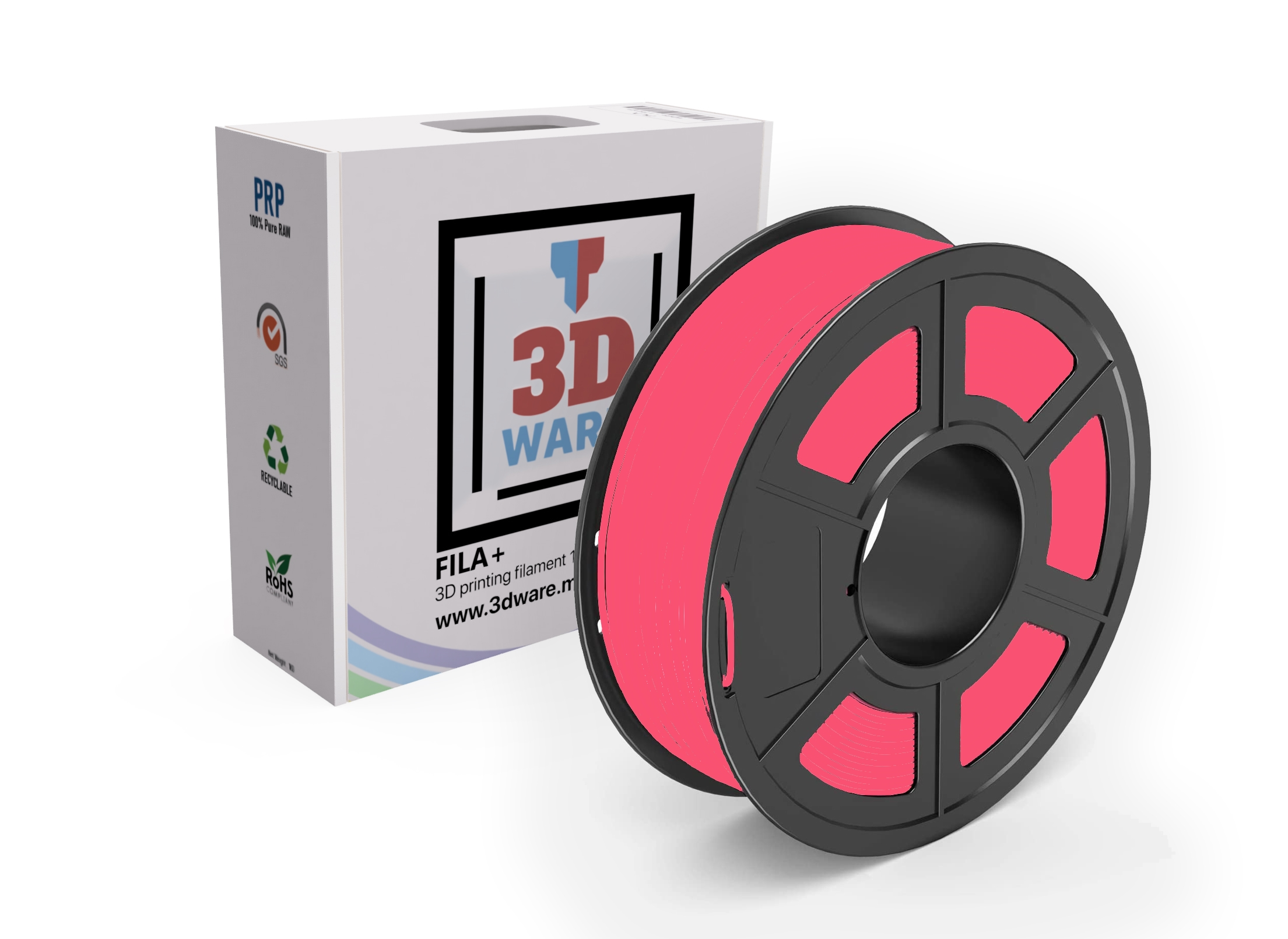 Filament 3D FILA+ ABS Rouge 1.75mm 1kg