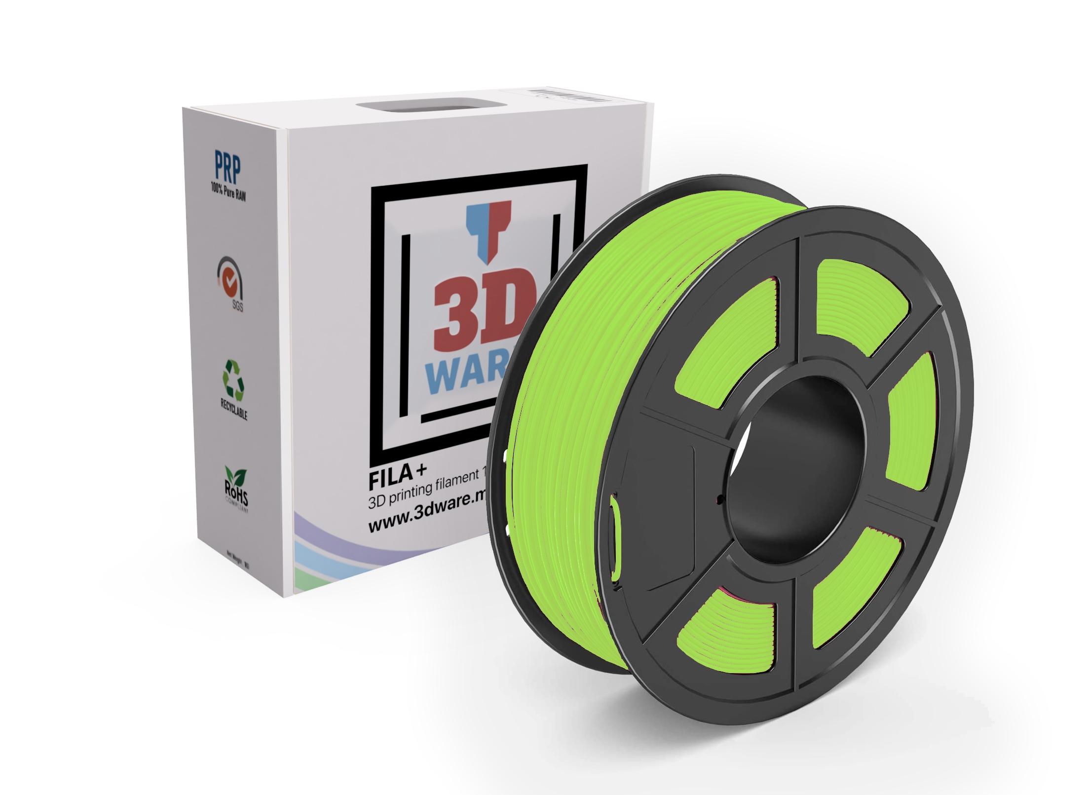 Filament 3D PLA FILA+ Pro Jaune 1.75mm 1kg