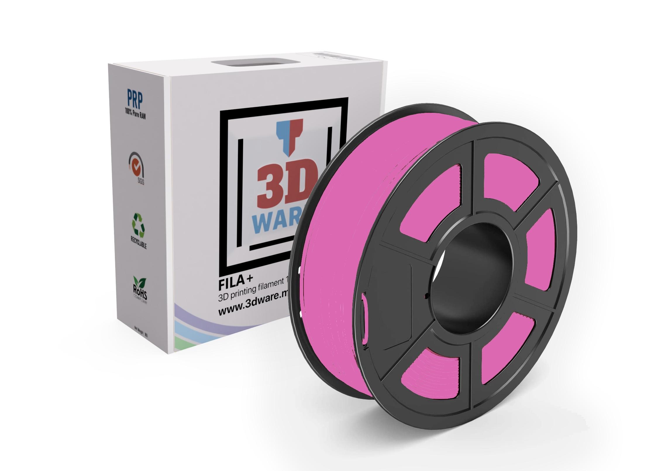 Filament 3D PLA FILA+ Standard Rose 1.75mm 1kg