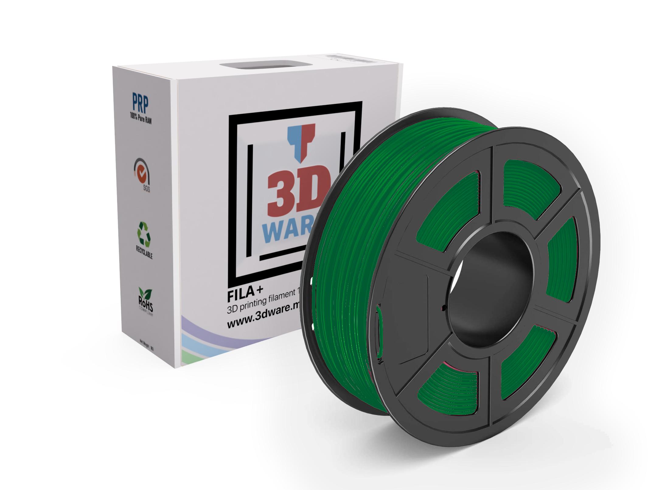 Filament 3D FILA+ ABS Vert 1.75mm 1kg