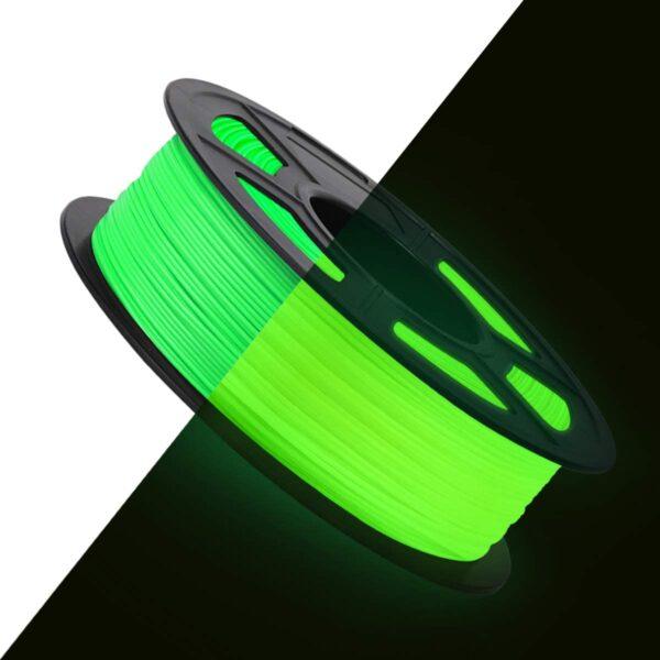 Luminous Green PLA Filament