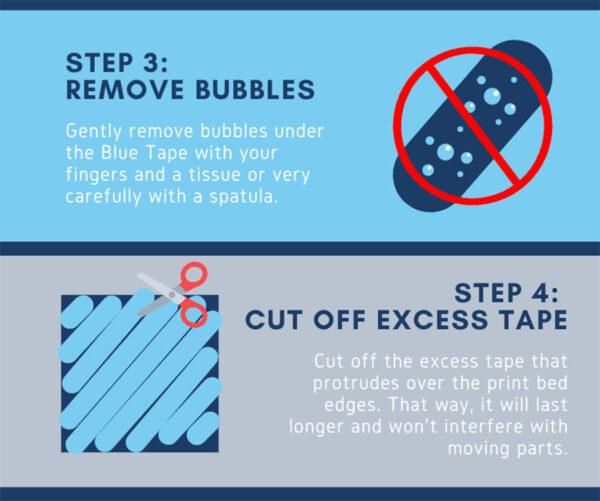 Bluetape Ruban adhésif pour imprimante 3D